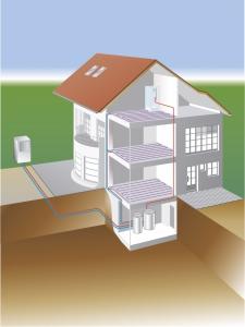 warmtepomp lucht-water buiten